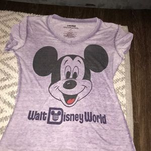 Disney world shirt